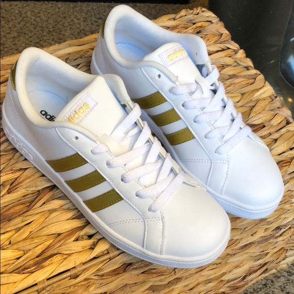 Adidas NEO Black Gold unboxing on feet Justin Bieber shoes